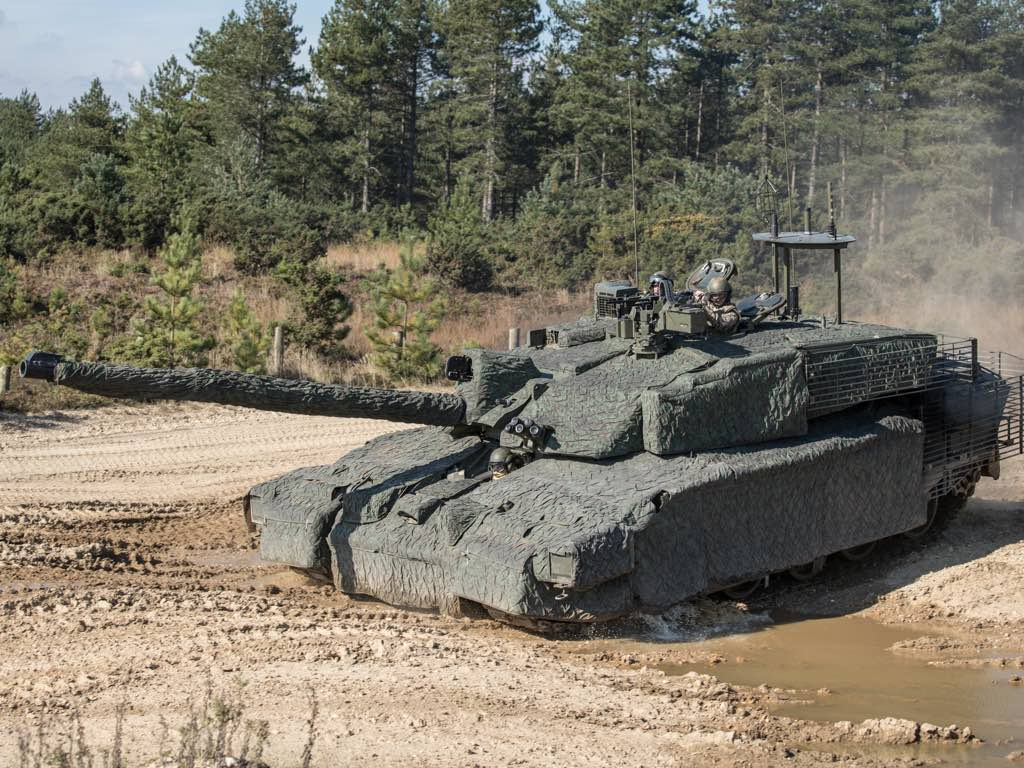 Challenger2 at Bovington